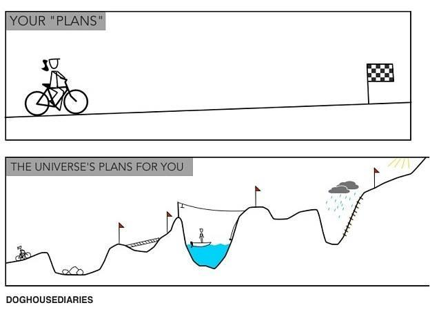 Your Plan v The Universe